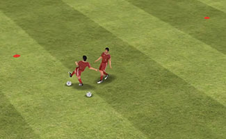 All For One - Fun Warm Up Dribbling Soccer Game.