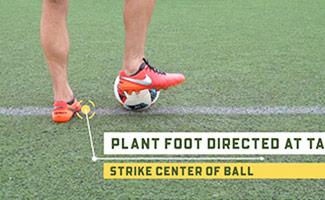 Basic Soccer Passing Technique