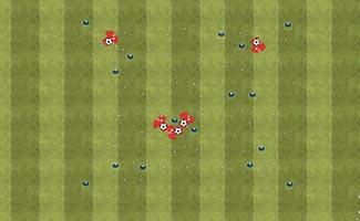Body Part Dribble - U6 soccer drill