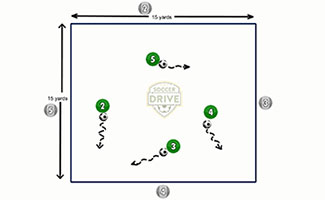 Free Dribbling Soccer Activity