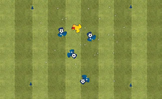 Freeze Tag - U6 Soccer Activity