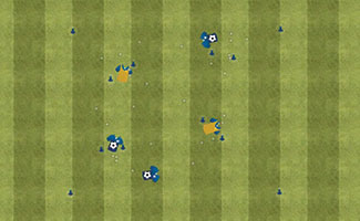 Gatekeepers - U10 Soccer Dribbling Activity