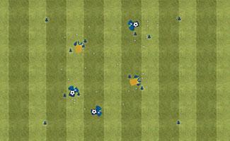 Gatekeepers - U10 Soccer Dribbling Activity