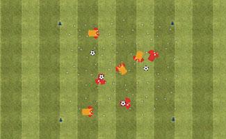 Team Tag - U8 Soccer Activity