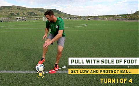 Turning Soccer Skills Series