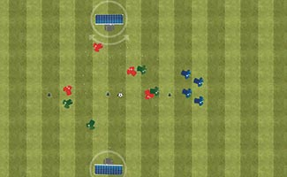 When to Shoot - Soccer Shooting & Finishing Drill