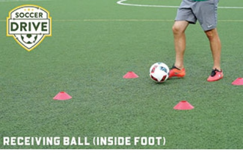First Touch: Receiving Ball with Inside of Foot