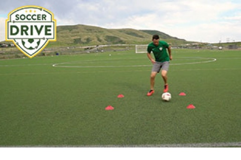 First Touch: Receiving Ball with Outside of Foot