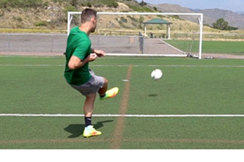 Shooting Soccer Ball for Accuracy
