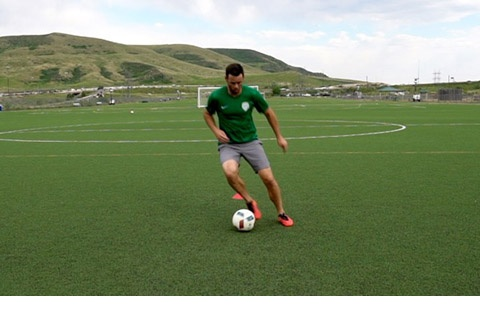 Soccer Dribbling Skill Series
