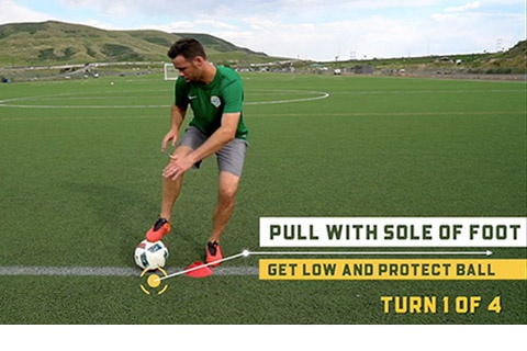 Turning Soccer Skills Series