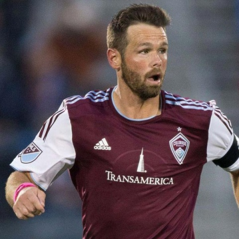 Bobby Burling playing for Colorado Rapids