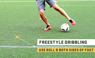 Freestyle Soccer Dribbling