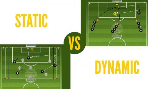Static vs. Dynamic Soccer Activities in Practice Plans