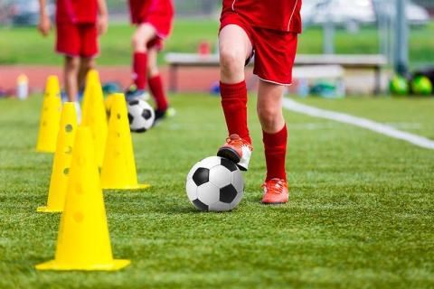 Youth Soccer Dribbling Drill
