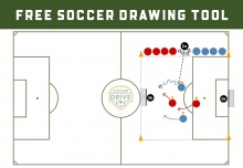 Free Online Soccer Drawing Tool